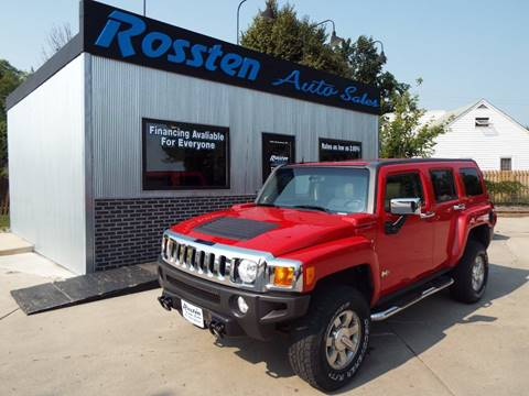2007 HUMMER H3 for sale at ROSSTEN AUTO SALES in Grand Forks ND