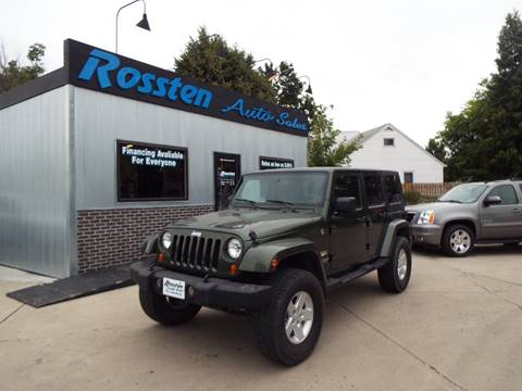 2007 Jeep Wrangler Unlimited for sale at ROSSTEN AUTO SALES in Grand Forks ND