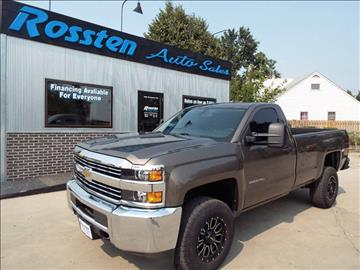2015 Chevrolet Silverado 2500HD for sale at ROSSTEN AUTO SALES in Grand Forks ND