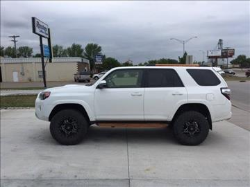 2016 Toyota 4Runner for sale at ROSSTEN AUTO SALES in Grand Forks ND