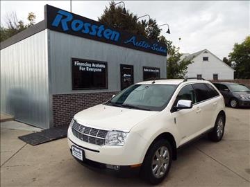2008 Lincoln MKX for sale at ROSSTEN AUTO SALES in Grand Forks ND