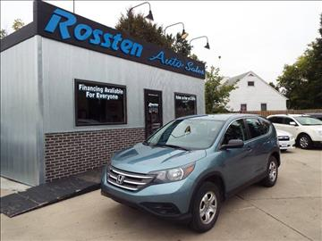 2014 Honda CR-V for sale at ROSSTEN AUTO SALES in Grand Forks ND