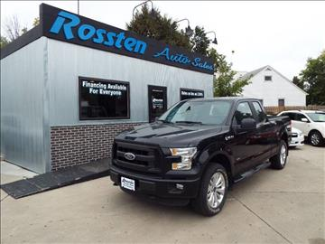 2016 Ford F-150 for sale at ROSSTEN AUTO SALES in Grand Forks ND