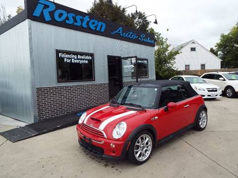 2006 MINI Cooper for sale at ROSSTEN AUTO SALES in Grand Forks ND