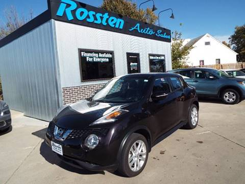 2016 Nissan JUKE for sale at ROSSTEN AUTO SALES in Grand Forks ND