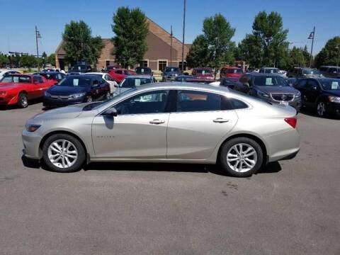 2016 Chevrolet Malibu for sale at ROSSTEN AUTO SALES in Grand Forks ND