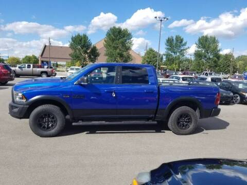 2017 RAM Ram Pickup 1500 for sale at ROSSTEN AUTO SALES in Grand Forks ND
