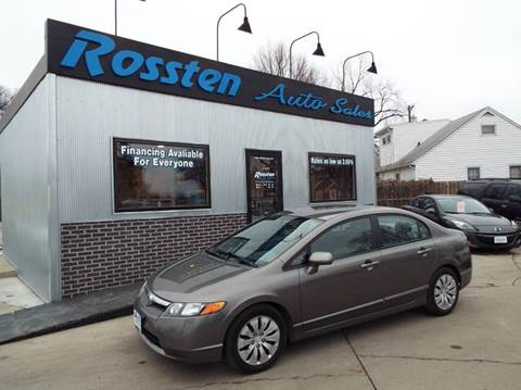 2008 Honda Civic for sale at ROSSTEN AUTO SALES in Grand Forks ND