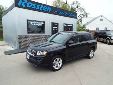 2011 Jeep Compass for sale at ROSSTEN AUTO SALES in Grand Forks ND