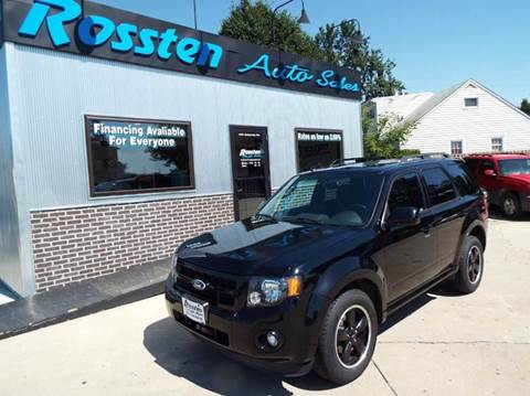 2012 Ford Escape for sale at ROSSTEN AUTO SALES in Grand Forks ND