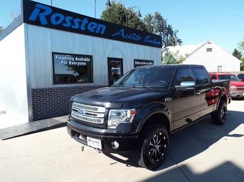 2013 Ford F-150 for sale at ROSSTEN AUTO SALES in Grand Forks ND