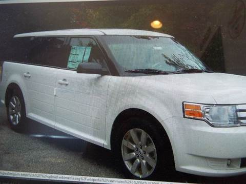 2010 Ford Flex for sale at ROSSTEN AUTO SALES in Grand Forks ND