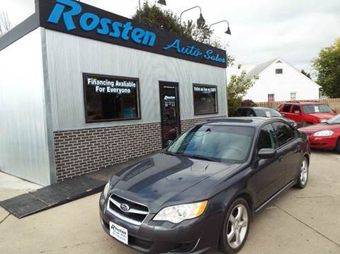 2009 Subaru Legacy for sale at ROSSTEN AUTO SALES in Grand Forks ND