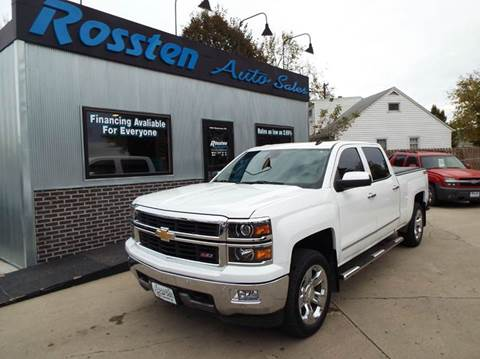 2014 Chevrolet Silverado 1500 for sale at ROSSTEN AUTO SALES in Grand Forks ND