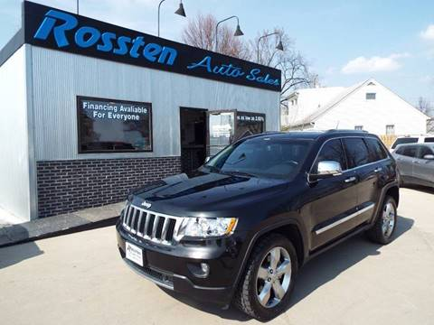 2012 Jeep Grand Cherokee for sale at ROSSTEN AUTO SALES in Grand Forks ND