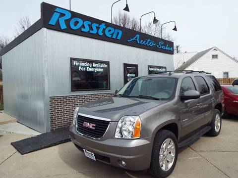 2007 GMC Yukon for sale at ROSSTEN AUTO SALES in Grand Forks ND
