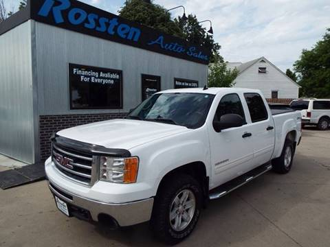 2013 GMC Sierra 1500 for sale at ROSSTEN AUTO SALES in Grand Forks ND