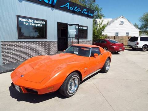 1975 Chevrolet Corvette for sale at ROSSTEN AUTO SALES in Grand Forks ND
