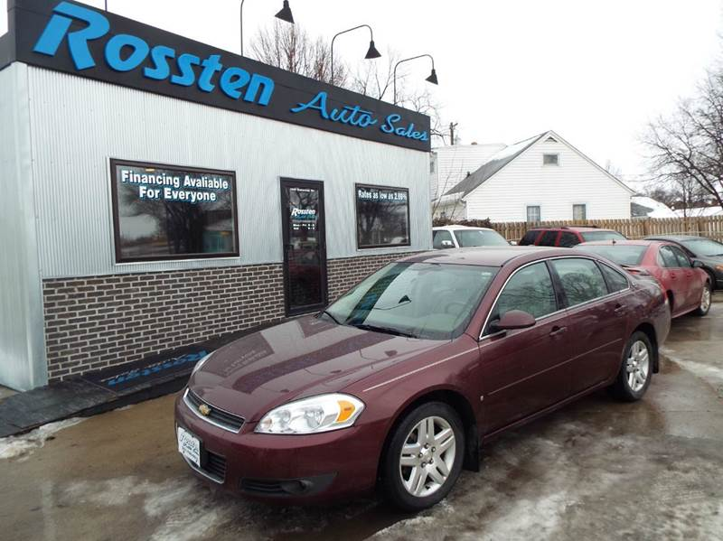 2007 Chevrolet Impala for sale at ROSSTEN AUTO SALES in Grand Forks ND