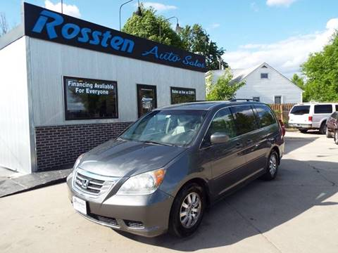 2008 Honda Odyssey for sale at ROSSTEN AUTO SALES in Grand Forks ND