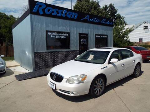 2006 Buick Lucerne for sale at ROSSTEN AUTO SALES in Grand Forks ND