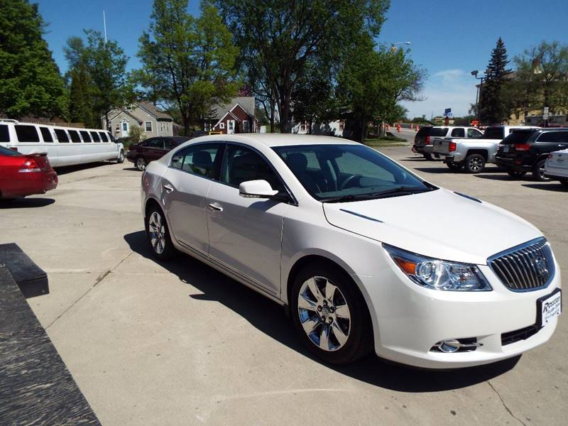 2013 Buick LaCrosse for sale at ROSSTEN AUTO SALES in Grand Forks ND