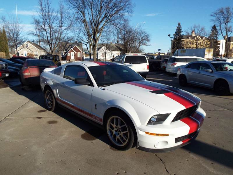 2009 Ford Shelby GT500 for sale at ROSSTEN AUTO SALES in Grand Forks ND