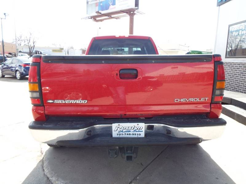 2005 Chevrolet Silverado 3500 for sale at ROSSTEN AUTO SALES in Grand Forks ND