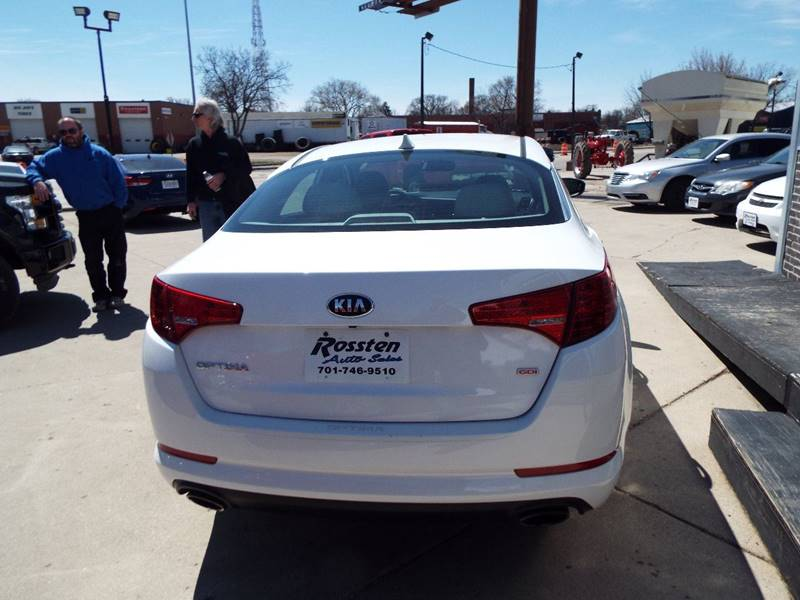 2013 Kia Optima for sale at ROSSTEN AUTO SALES in Grand Forks ND