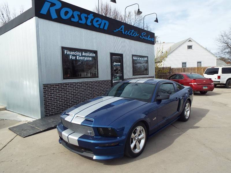 2008 Ford Mustang for sale at ROSSTEN AUTO SALES in Grand Forks ND
