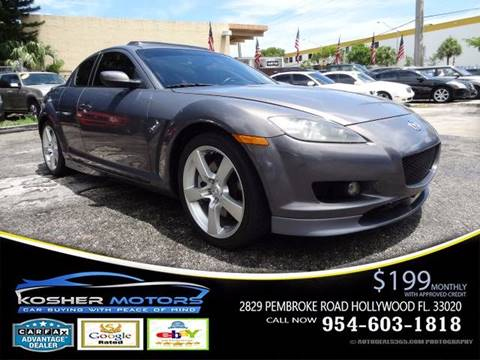 2006 Mazda RX-8 for sale in Hollywood, FL