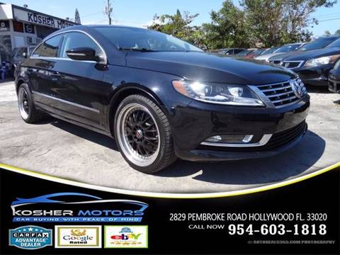 2015 Volkswagen CC for sale in Hollywood, FL