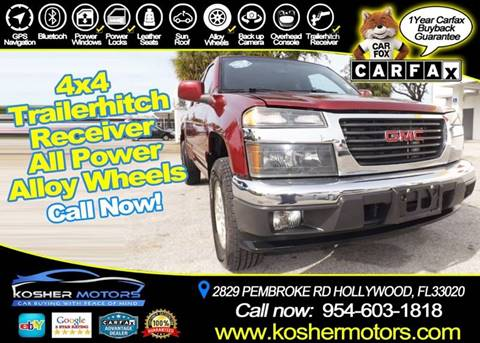 2010 GMC Canyon for sale in Hollywood, FL
