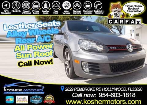 2010 Volkswagen GTI for sale in Hollywood, FL