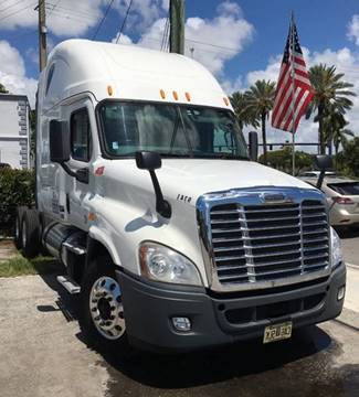 2014 Freightliner Cascadia for sale in Hollywood, FL