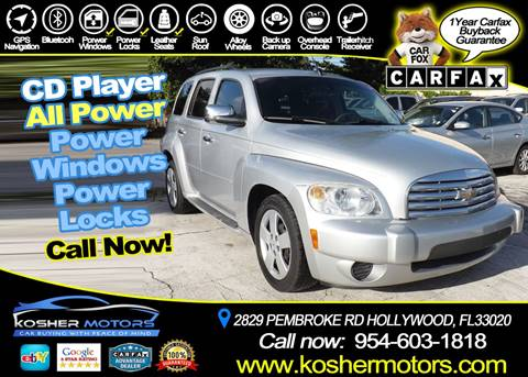 2011 Chevrolet HHR for sale in Hollywood, FL