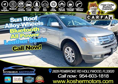 2008 Ford Edge for sale in Hollywood, FL