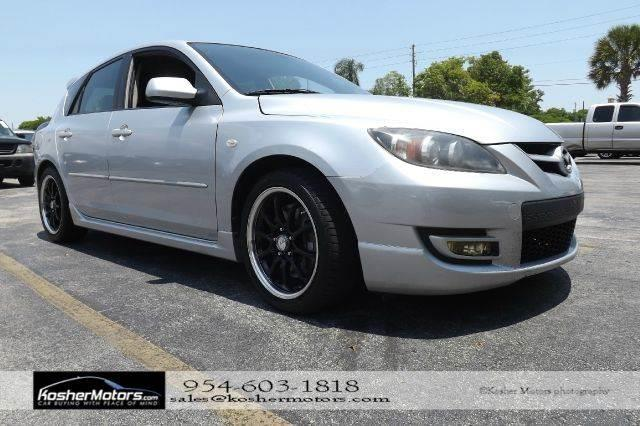 2007 MAZDA MAZDASPEED3 SPORT 4DR WAGON silver no credit needed   rebuilt title rebuilt title
