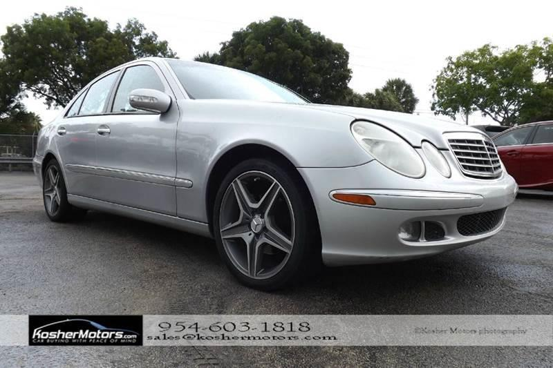 2005 MERCEDES-BENZ E-CLASS E320 CDI 4DR SEDAN silver no credit needed  leather seats sunroof