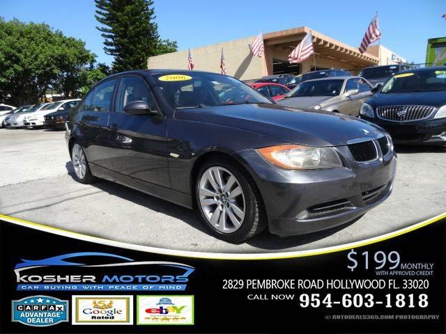 2006 BMW 3 SERIES 325I 4DR SEDAN sparkling graphite metallic no credit needed leather seat sun