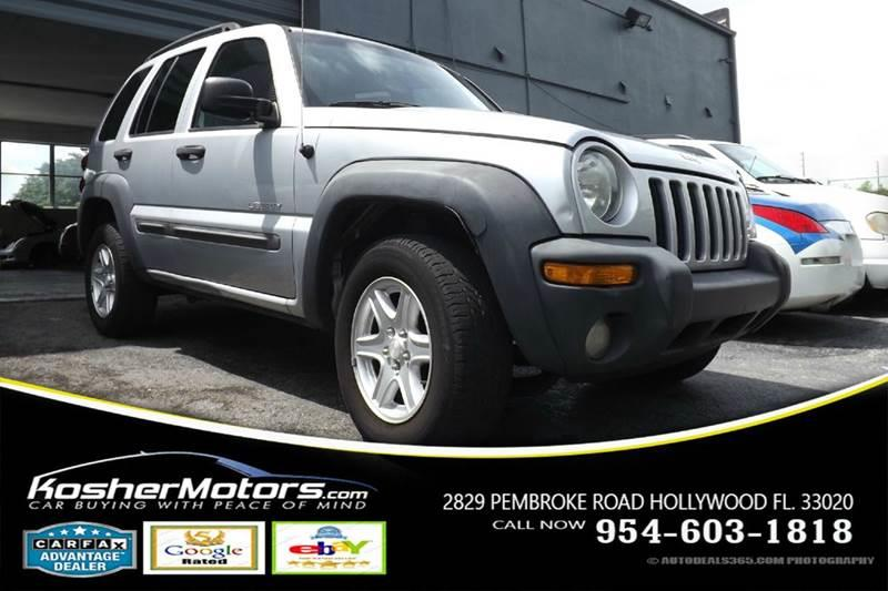 2004 JEEP LIBERTY SPORT 4DR SUV silver the jeep liberty offers a great balance for someone who en
