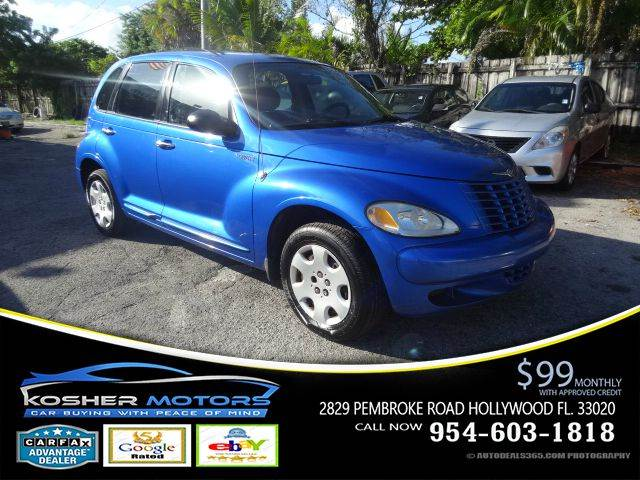 2005 CHRYSLER PT CRUISER TOURING 4DR WAGON blue thanksgiving special clean title carfax availa