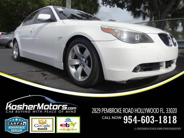 2007 BMW 5 SERIES 525I 4DR SEDAN white the bmw 5 series puts an emphasis on the drivingthis mid-