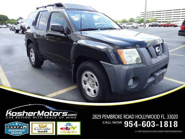 2006 NISSAN XTERRA S 4DR SUV WAUTOMATIC black no credit needed the nissan xterra is a no-frill