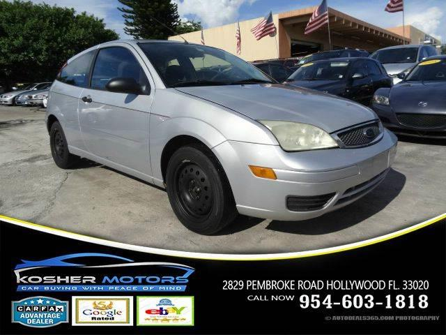 2005 FORD FOCUS ZX3 SE 2DR HATCHBACK silver - strong engine  - great tires  - gas saver  - cold a