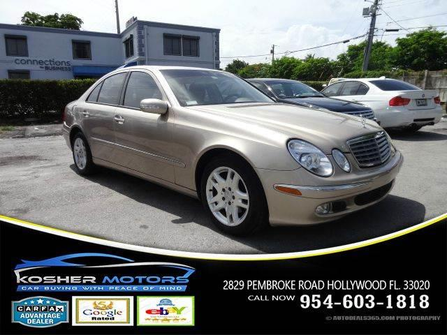 2003 MERCEDES-BENZ E-CLASS E320 4DR SEDAN gold no credit needed clean title carfax available t