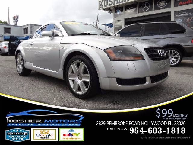 2006 AUDI TT 180HP 2DR HATCHBACK silver 18 turbocharger leather interior  bose audio system t