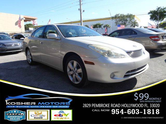 2005 LEXUS ES 330 BASE 4DR SEDAN silver no credit needed fog lights chrome package sunroof le