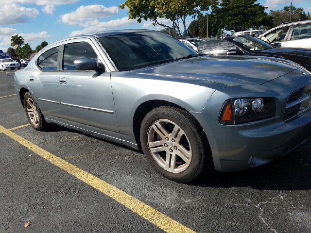 2006 DODGE CHARGER RT 4DR SEDAN gray 57 v8 rt leather interior power door power windows pow