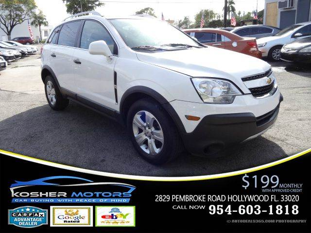 2014 CHEVROLET CAPTIVA SPORT LS 4DR SUV W2LS white convenience package keyless entry power loc